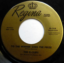 G-CLEFS 45 To The Winner Goes The Prize / I Believe SOUL Popcorn REGINA w3361