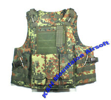 FSBE style MOLLE Assault Tactical Carrier Vest / German WD (KHM Airsoft)