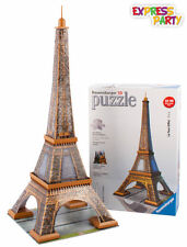 EIFFEL TOWER 3D PUZZLE 216 PIECE RAVENSBURGER JIGSAW