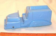 MARX ICE CREAM TRUCK 1950s IN BLUE FRICTION POWERED