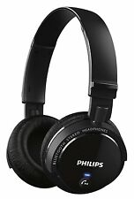 Philips SHB5500BK Wireless Clear Sound Bluetooth Headphone (Black) (SMP3)