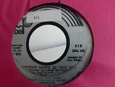 PARTRIDGE FAMILY I think i like you Somebody wants to love you BELL 910
