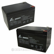 Combo of 2 - 12V 12AH Sealed Lead Acid Battery replaces 6FM12, SW12120, WP12-12