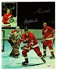 Gordie Howe and Alex Delvecchio w/Special Insert from the Toronto Maple Leafs