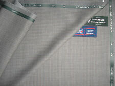 DORMEUIL 'TROPICAL AMADEUS' LUXURY WOOL SUITING FABRIC - 3.4 m.- MADE IN ENGLAND
