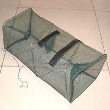 Foldable Fishing Bait Trap Cast Nets Cage Shrimp Crawdad Minnow New Sale Basket
