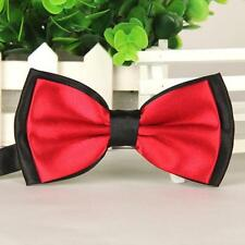 2016 B4 Fashion Men Satin Adjustable Bowtie Tuxedo Wedding Bow Tie Necktie B4