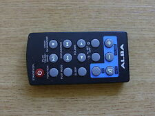 GENUINE ORIGINAL ALBA NE-600MP3 AUDIO SYSTEM REMOTE CONTROL