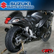 2008 - 2017 SUZUKI HAYABUSA 1300 M4 DUAL BLACK RETRO DRAG SLIP ON EXHAUST SU8322