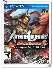 PSV DYNASTY WARRIORS 8 XTREME LEGENDS COMPLETE VITA Action Koei Tecmo