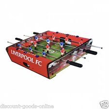 OFFICIAL LIVERPOOL FC 20 INCH TABLE FOOTBALL GAME NEW GIFT XMAS