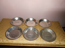 OVENEX PERFECT BAKEWARE  pie plates/pans waffle pattern 6 total