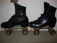 Vintage 1950 Betty Lytle By Hyde Roller Skates Chicago Trophy Custom Line Size 7