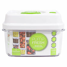 1 Litre Vacuum Seal Pump Fresh Container Lunch Box Food Storage Box Canister