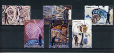 Curacao 2013 MNH Abstract Art 6v Set Paintings Design