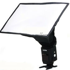 20 x 30cm Foldable Flash Diffuser Softbox Soft Box For Digital SLR Camera