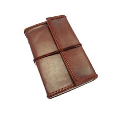 Fair Trade Handmade Eco XXL Stitched Leather Journal Notebook 2nd Quality