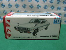 SCATOLA / BOX  per/for  NISSAN  SILVIA  1800   - 1/45 Diapet - Yonezawa Toys