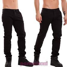 Pantalones de hombre delgado flaco ajustado colorido algodón casual nuevo SK-245