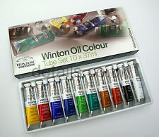 Winsor and Newton Winton Oil Colour 10 x 37ml tube, paint set - RRP £40.00