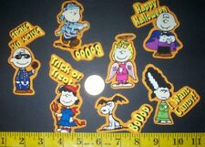 New! Cool! Peanut Snoopy Halloween IRON-ONS FABRIC APPLIQUES IRON-ONS