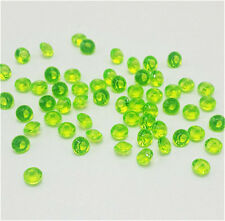 400Pcs green Crystal Birthstones Floating Charm for Glass Living Memory Locket #