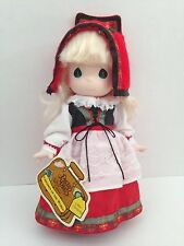 """PRECIOUS MOMENTS ~ Children of the World OLLIE NORWAY #1523 ~9"""" Vinyl Doll HTF"""
