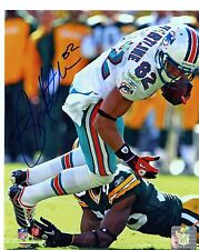 BRIAN HARTLINE MIAMI DOLPHINS   SIGNED 8X10 PHOTO