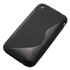 Silicona Funda TPU S-line bolso funda para Apple iPhone 3g 3gs