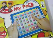 Tablet Mypad English computer Educational Toy for Kids battery operated