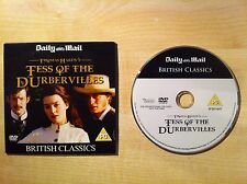 TESS OF THE DURBERVILLES Thomas Hardy's Justine Waddell and Jason Flemyng DVD