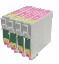 4 Light Magenta Cartridges R200 R220 R300 R300M R320 R340 T0486 Compatible Inks