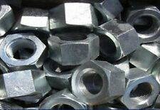 "500 No, 5/16"" BSF Full Nuts, Bright Zinc Plated."