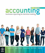 Accounting: Business Reporting for Decision Making 3E by Jacqueline Birt, Albie