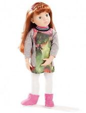 Götz Stehpuppe Puppe Clara Multigelenkstehpuppe 50cm rotbraun Geschenk 1666037