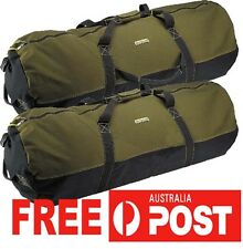 """Heavy Duty Canvas Cabela Duffle Bag Carry Travel Ultility Camping 36"""" 90x50cm"""
