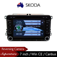 "7"" SKODA Car DVD GPS Navigation Stereo Radio with Canbus"