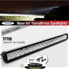 "TERRAFIRMA 40"" LED ROOF LIGHT BAR 18 X 10W CREE LED 15000Lm LAND ROVER DEFENDER"