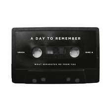 A Day To Remember - What Separates Me From You CASSETTE - Black Tape - SEALED