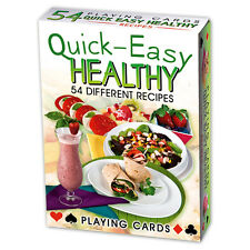 Quick Easy Healthy Recipes set of 52 playing cards (ix)