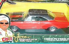 ERTL 1969 PLYMOUTH ROAD RUNNER 1/18 JOHN FORCE SIGNATURE SERIES