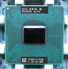 Intel Core 2 Duo T9500 CPU Processor 2.6 GHz FF80576GG0646M 800 MHz 100% work
