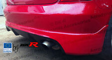 Honda Civic BK-R rear splitter lip  01 - 05  type R EP1, 2, 3, 4 with diffuser