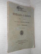 ELEMENTI DI MINERALOGIA E GEOLOGIA Mineralogia Lamberto Moschen Dante Alighieri