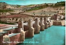 TURSI  ( Matera )  -  La Diga di Gannano sul fiume Agri