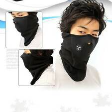 Black Neoprene Face Mask Neck Warm Veil Winter Sport Ski Motorcycle Cycling Bike