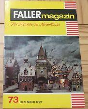 Faller AMS ---  Faller Magazin 73, Dezember 1969
