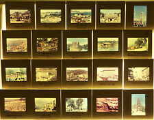 Lot of 20 Vintage 1970's 35mm Slides Hong Kong Kowloon