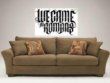 "WE CAME AS ROMANS 35""X25"" MOSAIC WALL POSTER KYLE PAVONE"