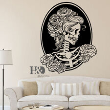 Halloween Skeleton Wall Decal Skull Home Decoration Window Decor Sticker